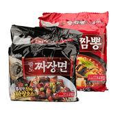 韓國 Paldo金炸醬麵海鮮炒碼湯麵【庫奇小舖】