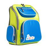 airbobo氣墊減壓護脊書包-經典款-綠地