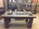 【大熊傢俱】 風化木茶台 實木桌 泡茶桌 茶台 泡茶桌 桌子 茶几 原木桌 長桌