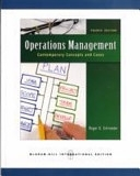 二手書博民逛書店《Operations Management: Contemporary Concepts and Cases》 R2Y ISBN:9780071263863