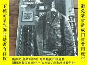 二手書博民逛書店CLUTCH罕見VINTAGE STORE 裏面撕掉一頁 日本原版 全網孤本Y367923