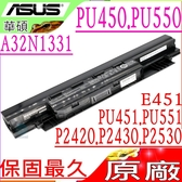 ASUS電池(原廠)-華碩 450CA,450CD,450V,450VB,E451,E451L,E451LA,E551LG,E551JA,E551JD,A33N1332,A32N1331