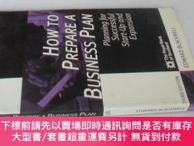 二手書博民逛書店英文原版罕見How to Prepare a Business Plan (Business Enterprise