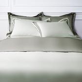 (組)雅緻天絲素色單人床被組暖褐