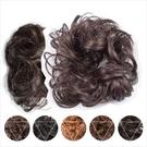 【頭髮增量】仿真髮高溫絲9008髮包甜甜圈(具鬆緊帶可綁)(5色) [45039]