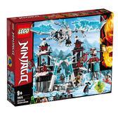 LEGO樂高 旋風忍者系列 70678 遺落的帝王城堡 積木 玩具