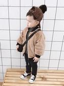 寶寶冬裝男童棉襖外套加絨加厚3歲兒童開衫上衣兩面穿潮【82折下殺】