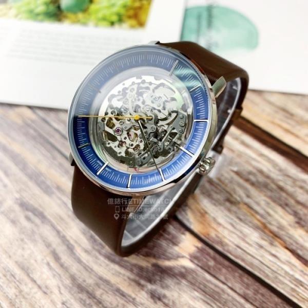 【南紡購物中心】FOSSIL美國品牌Chase系列鏤空機械紳士腕錶ME3162原廠公司貨