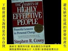 二手書博民逛書店(外文書)THE罕見7 HABITS OF HIGHLY EFF