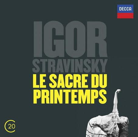史特拉汶斯基:春之祭 CD STRAVINSKY: Le Sacre du Printemps 阿胥肯納吉柏林德意志交響樂團