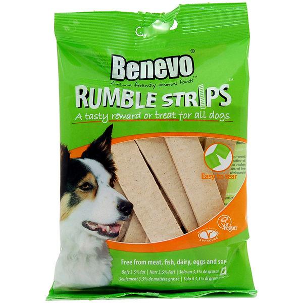 英國Benevo狗狗隆隆條 頂級素食寵物食品★Vegan 純素營養點心 素肉條 毛小孩的最愛