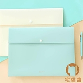 A4文件夾多層文件袋手提試卷收納資料夾風情包【宅貓醬】