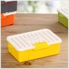 《不囉唆》糖果色迷你M8卡扣收納盒-黃色(不挑色/款) 辦公周邊/辦公收納/文具收納 【A433301】
