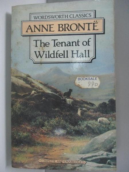 【書寶二手書T6/原文小說_AEG】The Tenant of Wildfell Hall_Anne Brontë