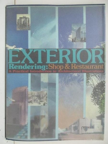 【書寶二手書T4/建築_DSZ】Exterior Rendering:Shop&Restaurant