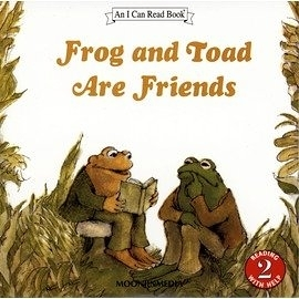 〈汪培珽英文書單〉〈An I Can Read 系列: L2 〉FROG AND TOAD ARE FRIENDS /單CD