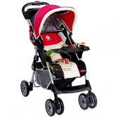 [ 家事達 ] HB 美國Syncon 豪華型站立嬰兒手推車-黑底動物布