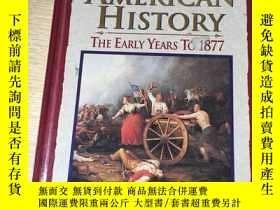 二手書博民逛書店American罕見history the early years tu 1877Y179696 mcgraw