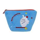 藍色款【日本進口正版】哆啦A夢 DORAEMON 船型 化妝包 收納包 筆袋 鉛筆盒 小叮噹 - 150595