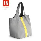 外出手提袋子時尚帆布環保購物袋大容量超市買菜袋子便攜防水折疊