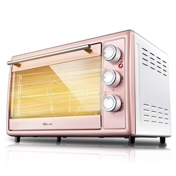 220V大功率1600w多功能電烤箱家用烘焙迷你全自動30升大容量【全館88折起】
