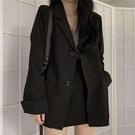 西裝 西裝外套女2020春秋新款潮英倫風韓版寬鬆復古港風輕熟學生小西服 南風小鋪
