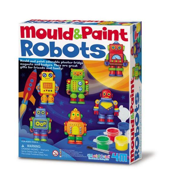 【4M】美勞創作系列 - 機器人(製作磁鐵) M&P Robot  00-04653