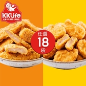 【KK Life-紅龍免運組】炸物派對18袋組 (500g*2包;2包/袋)