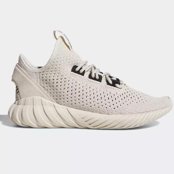 0dda61bb6 Adidas TUBULAR DOOM SOCK PRIMEKNIT 男鞋慢跑休閒編織沙色 運動世界