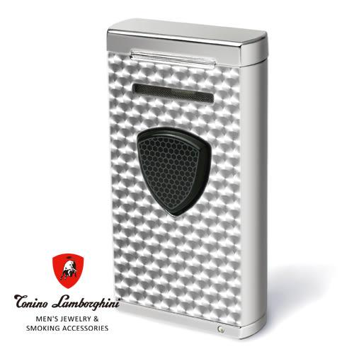 義大利 藍寶堅尼精品 - 附雪茄圓剪PERGUSA LIGHTER 打火機(黑色) ★ Tonino Lamborghini 原廠進口 ★