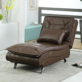 科技皮懶人沙發躺椅單人貴妃小戶型客廳休閒折疊午休沙發床 PA12948『棉花糖伊人』