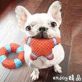 【618好康又一發】狗狗玩具發聲法斗柯基磨牙耐咬