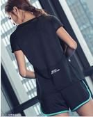 速干t恤女寬鬆夏健身服性感網紅罩衫跑步瑜伽服上衣顯瘦運動短袖