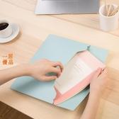 文件袋 檔案夾得力 文件袋 加厚 彩色 A4 按扣 檔案資料袋 4個裝