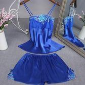 女春夏兩件套裝一字領蕾絲