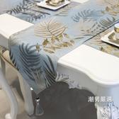 桌巾桌旗北歐風餐桌茶幾桌旗簡約現代桌布電視櫃長條裝飾布床旗床尾巾