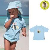 德國Lassig-嬰幼兒抗UV短袖泳裝上衣-小蜜蜂