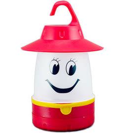 丹大戶外用品 ZP-006R/K8-8001 笑臉LED營燈 紅色 LED燈/造型燈