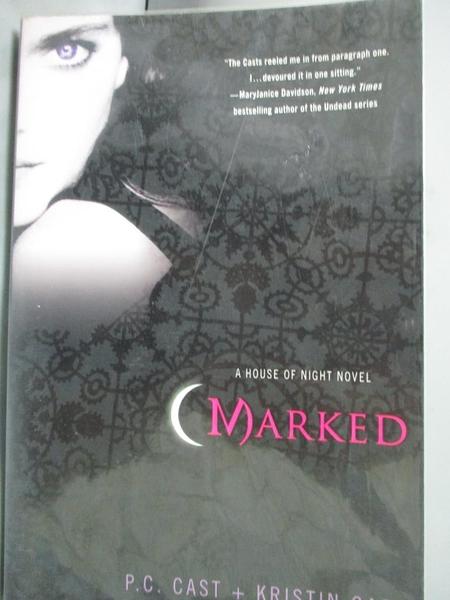 【書寶二手書T6/原文小說_INS】Marked_Cast, P. C.