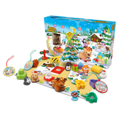 【英國 Vtech 】 動物系列 - 聖誕月曆驚喜禮盒╭★ JOYBUS玩具百貨
