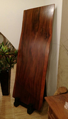 印尼胡桃木板 210.5*82(70)*8 cm