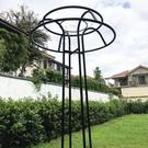 鐵園藝球蘭月季鐵線蓮攀藤蘑菇傘型花架爬藤架子綠植物支架桿戶外 夢幻小鎮