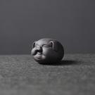 紫砂茶寵擺件茶玩茶藝小豬