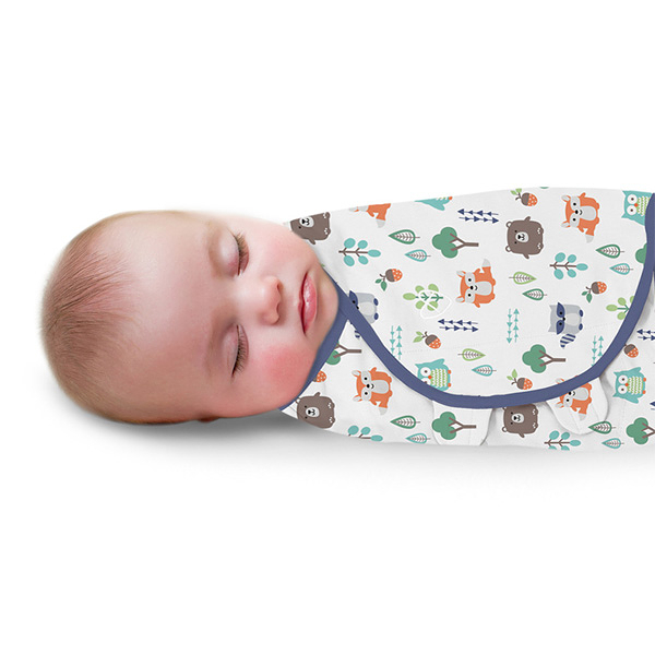 《美國Summer infant》聰明懶人育兒包巾-森林朋友 ㊣原廠授權總代理公司貨