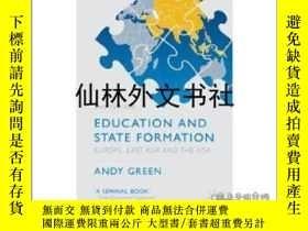 二手書博民逛書店【罕見】Education and State Formatio