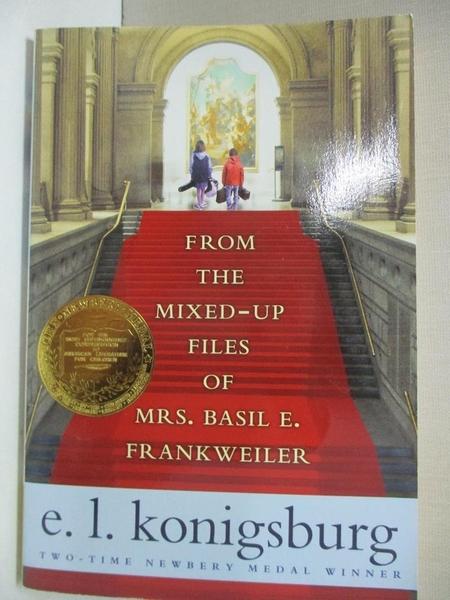【書寶二手書T1/原文小說_GIX】From the Mixed-Up Files of Mrs. Basil E. Frankweiler