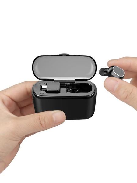 藍牙耳機 隱形藍牙耳機無線迷你掛耳式運動開車單入耳塞蘋果安卓通用男女通用{免運}