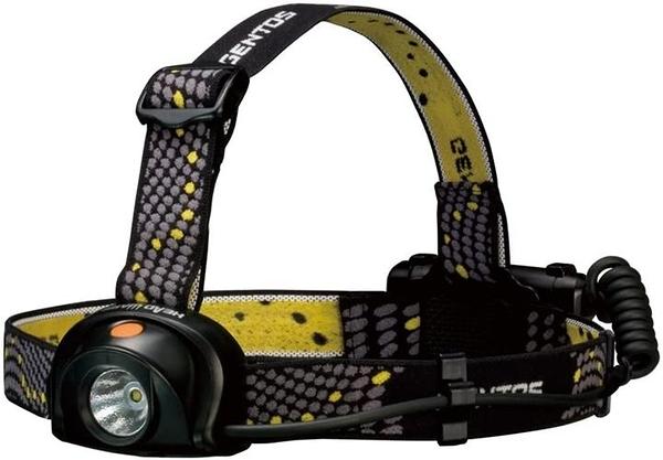 【日本代購】GENTOS LED 頭燈 即時開關按鍵 符合ANSI標準