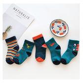 童襪 多樣款式秋冬童襪5入組    秋冬必備