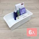 特惠-《真心良品》廚櫃附輪整理收納盒-6入組